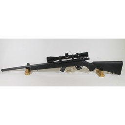 Savage Arms UG-12814 USED Savage Mark II Heavy Barrel Synthetic .22LR w/ Bushnell 3-9X Scope