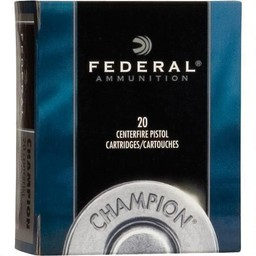 Federal Federal .45 Colt 225 Grain Semi Wadcutter Hollow Point