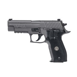 Sig P226 Legion 9mm Black Finish, DA/SA. X-Ray, Black G10 Grip, Steel Magazine