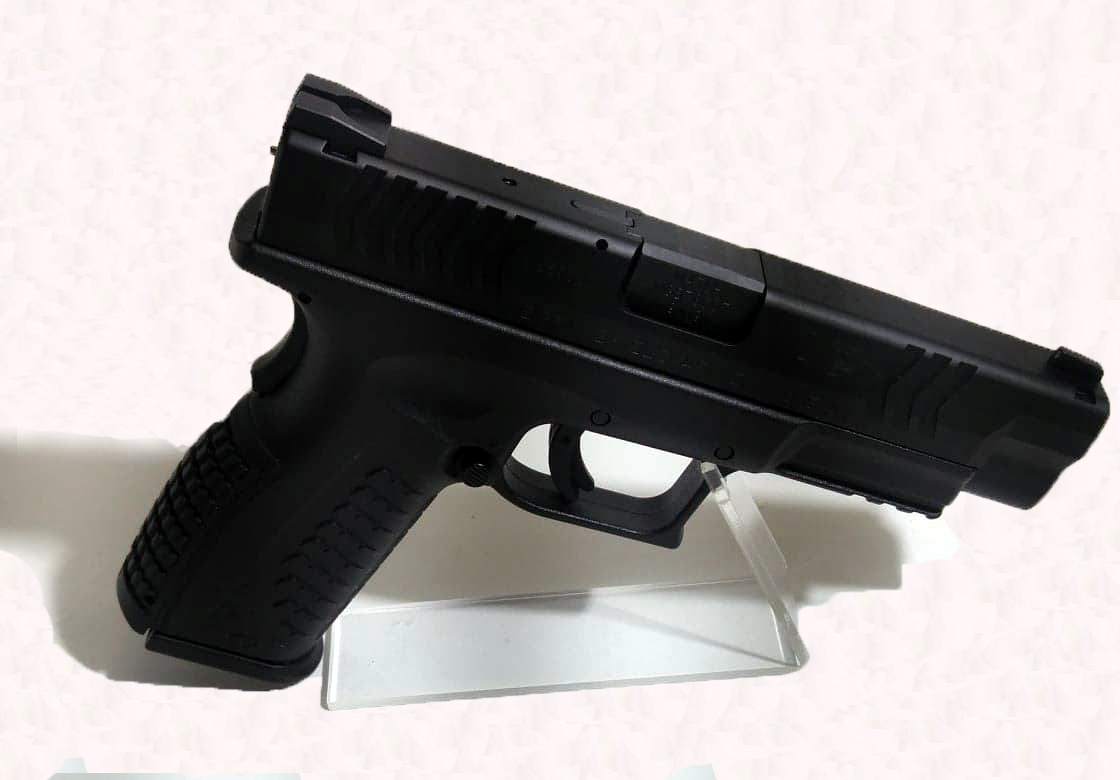UHG-6625 USED Springfield XDM 9mm w/ Magazines and 2 Magazine Holsters