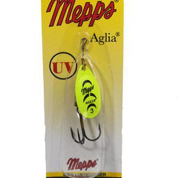 Mepps Mepps Aglia Shallow Runner In-Line Spinner Florescent Yellow