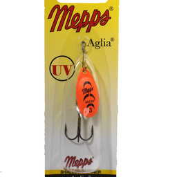Mepps Mepps Aglia Shallow Runner In-Line Spinner Orange