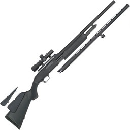 "Mossberg 500 20 Gauge Field Combo 24"" Fully Rifled Barrel With Scope And 26"" Vent Rib With Chokes"