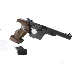 UHG-6673 USED Walther GSP .22LR Target Pistol w/ Original Case, Books, and Factory Target