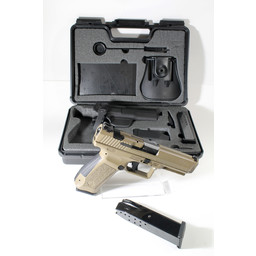 Canik UHG-6683 USED Canik .9mm Range Kit With Original Case and Contents (holster Incl'd), 4 Magazines Total. Excellent Condition.