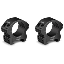 "Vortex Pro Series 1"" Rifle Scope Low Rings"