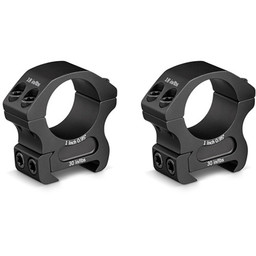 "Vortex Pro Series 1"" Rifle Scope Medium Rings"