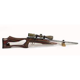 Savage Arms UG-12959 USED Savage MKII Stainless Fluted .22LR w/ Nikon Scope