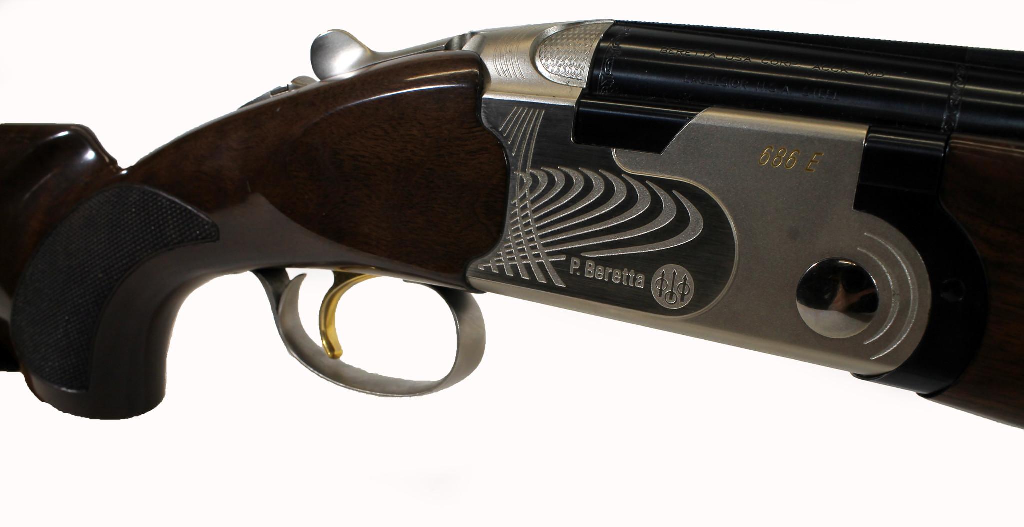 "Beretta UG-12956 USED Beretta 686 E 12 Gauge 3"" 30"" Barrels w/ Choke Tubes and Original Case"