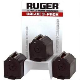Ruger BX-1 10/22 10 Round Magazine Value Pack (3)