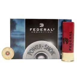 Federal Federal Power-Shok Buckshot Magnum Shotgun Shells