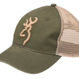 Browning Browning Cap Willow/Olive Buckmark Logo