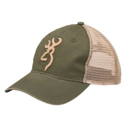 Browning Browning Cap Willow /Olive Buckmark Logo
