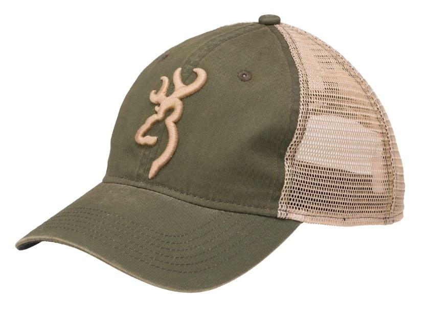Browning Browning Cap Willow/Olive Buckmark Logo