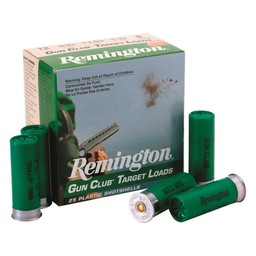 Remington Remington Gun Club Target 20 Gauge 7/8oz. Shot #7.5