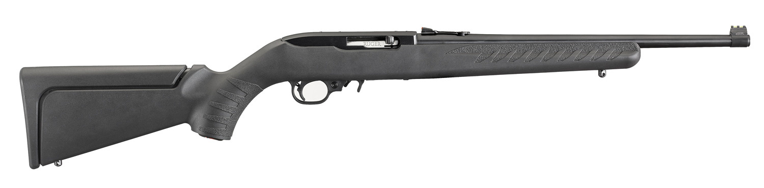 Ruger 10/22 Compact .22LR Semi-Auto Rifle Synthetic Stock Blued Barrel