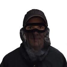 Quaker Boy Quaker Boy Elite 3/4 Bandit Black Facemask