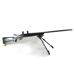 """Browning UG-12805 USED Browning X-Bolt 6.5 Creedmoor, Model Stalker w/ Dura-Touch. Includes Browning Integral X-Bolt Rings with Champion Bi-Pod 13.5""""-23"""", Custom Trigger. Less Than 10 Rounds Fired. Mint Condition!"""