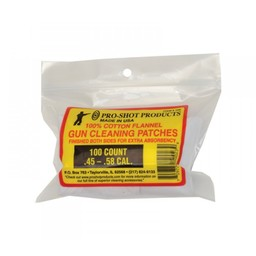 Pro-Shot Pro-Shot Gun Cleaning Patches .45- .58 Cal (100-Count)