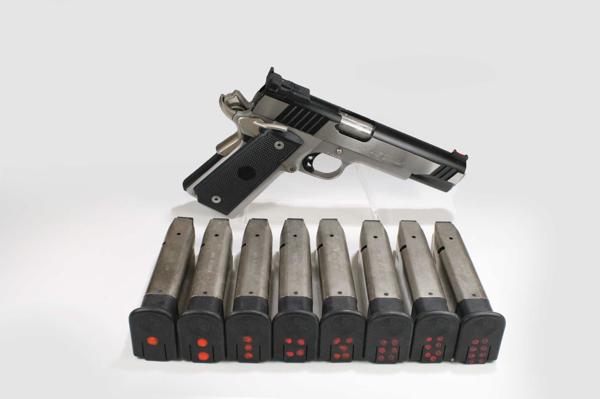 PARA CHG-6693 USED Para Ordnance Hi Cap 14.45 Limited, 45ACP, Made in Canada, 8 Double Stacked Magazines