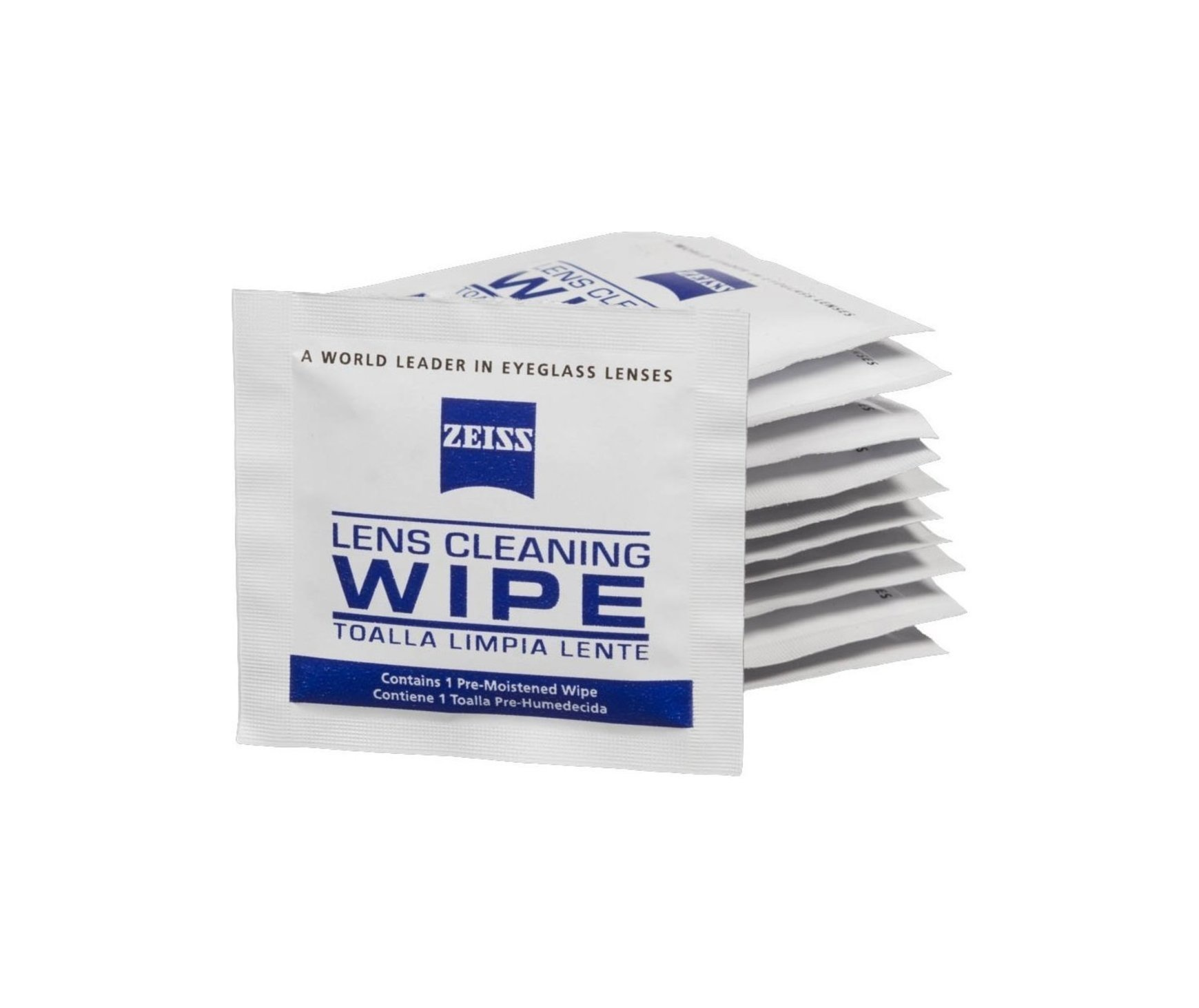 Zeiss Lens Wipes 10 Pack