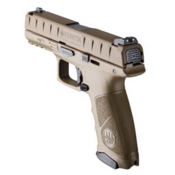 Beretta Beretta APX Tactical 9mm 2 Magazines and Back Straps FDE Finish