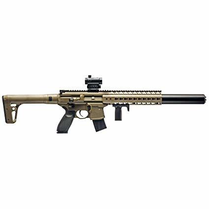 Sig Sauer MCX 710 FPS .177 Cal Pellet Rifle Sig Pellet Red Dot