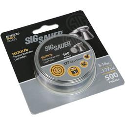 SIg Sauer .177 Match Pellet Flat Nose (500 Count)