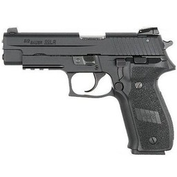 "Sig Sauer P226R 22LR 4.6"" Barrel Black Nitron Finish Adjustable Sights"