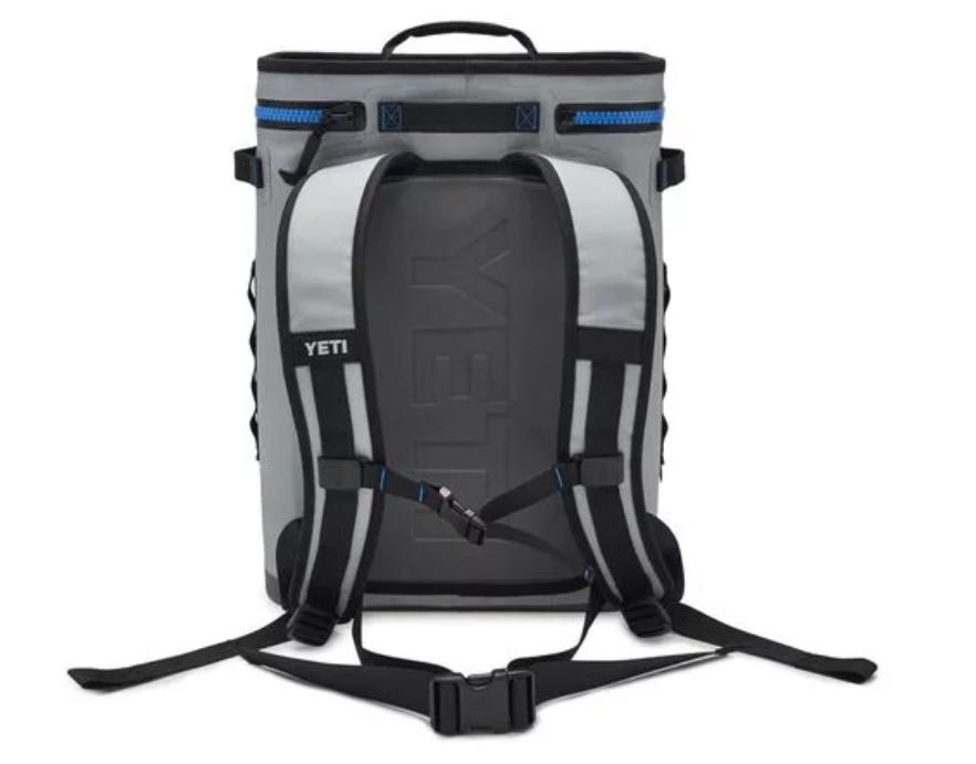 YETI YETI International Hopper Backflip 24 Fog Grey Backpack Cooler