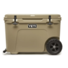 YETI YETI Tundra Haul Tan Cooler With Wheels