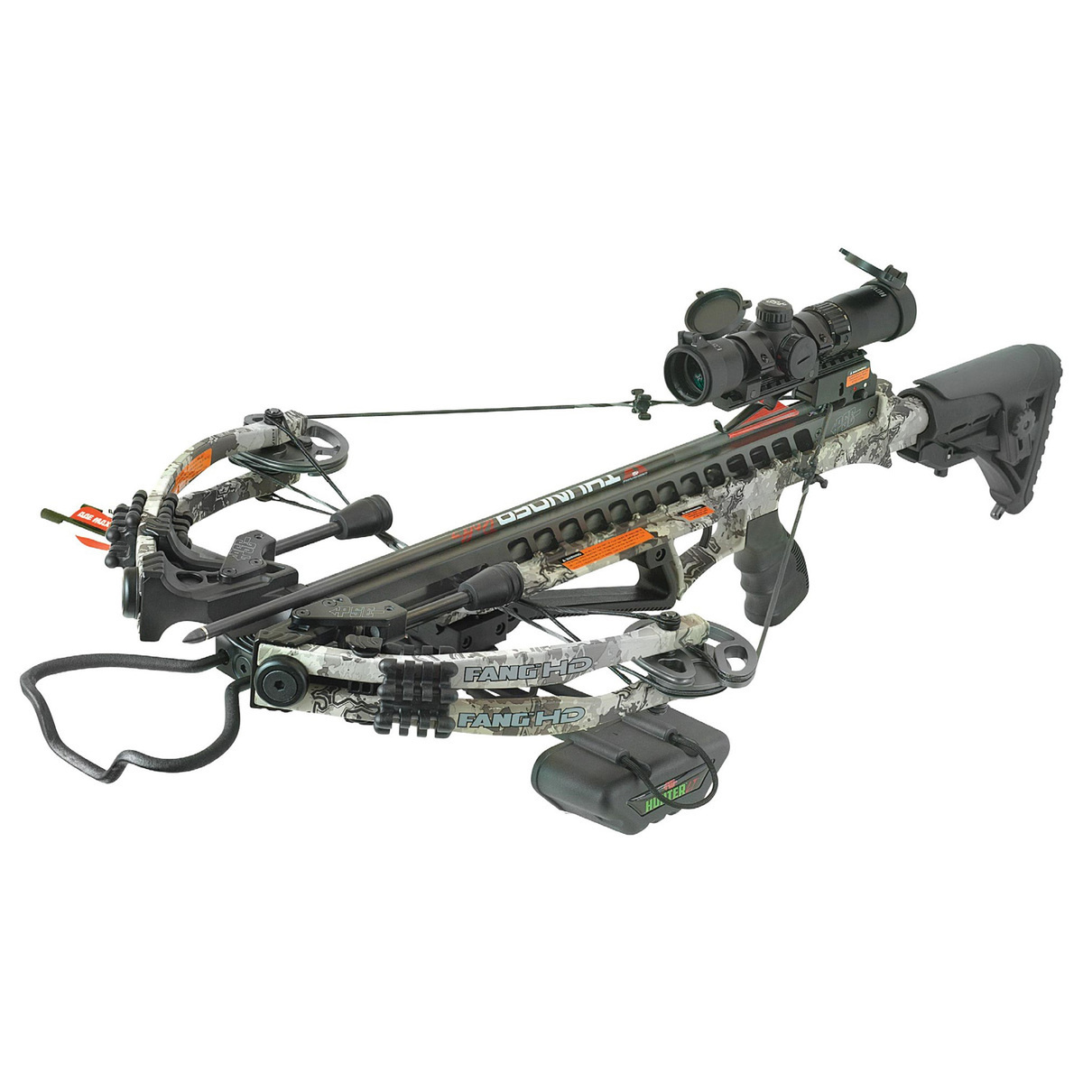 PSE Fang HD True Timber Viper Western Camo Crossbow Package