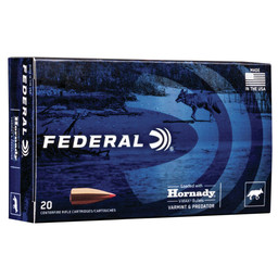 Federal Federal 6.5 Creedmoor Varmint 95 Grain V-Max (20 Rounds)