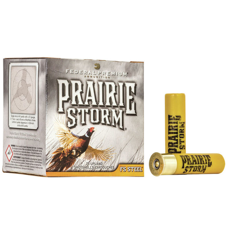 "Federal Federal Prairie Storm 20 Gauge 3"" 7/8Oz #4 (25 Rounds)"