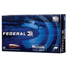 Federal Federal Varmint and Predator .223 Rem. 53 Grain V-Max (20-Rounds)