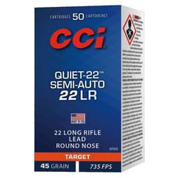 CCI CCI Quiet 22 LR Semi Auto 835 FPS (50 Rounds)