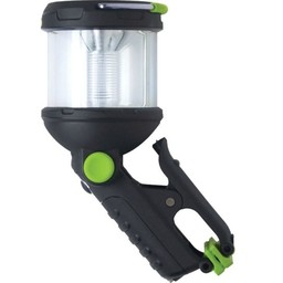 BlackFire ClampLight BackPack 125/65 Lumens LED Flashlight 3AAA