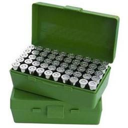MTM Case-Gard Pistol Fliptop 38/357 Green 50 Round