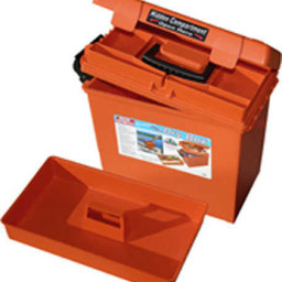 MTM Case Gard Sportsman Utility Dry Box Orange
