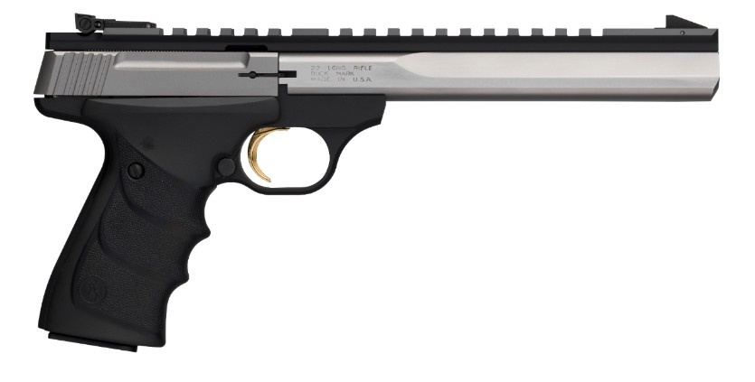 """Browning Browning Buck Mark Contour Stainless Steel 22LR 7.25"""" Barrel"""
