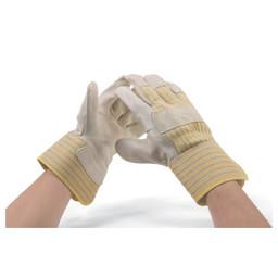 G. Hjukstrom Ltd. Glove Cow Grain Half Lined Large