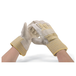 G. Hjukstrom Ltd. Glove Cow Grain Half Lined Large