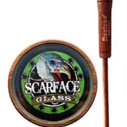 Flextone Game Calls Tramp Stamp Glass Turkey Call