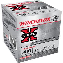 Winchester Winchester Super X .410 Gauge, 2 1/2, #4 Shot, High Brass
