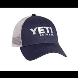 YETI YETI Navy Trucker Hat w/ White Mesh