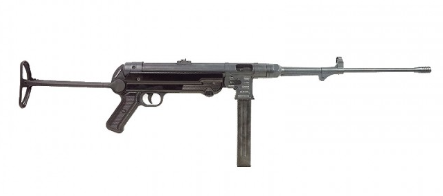"GSG MP40 Standard Black 9mm Carbine 18.6"" (Non Restricted)"