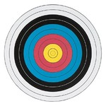 Maple Leaf Press 40cm Fita 10-Ring 4-Colour Archery Target
