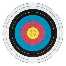 Maple Leaf 40cm Fita 10-Ring 4-Colour Archery Target