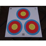 Maple Leaf Press 3-Spot Triangular Archery Target