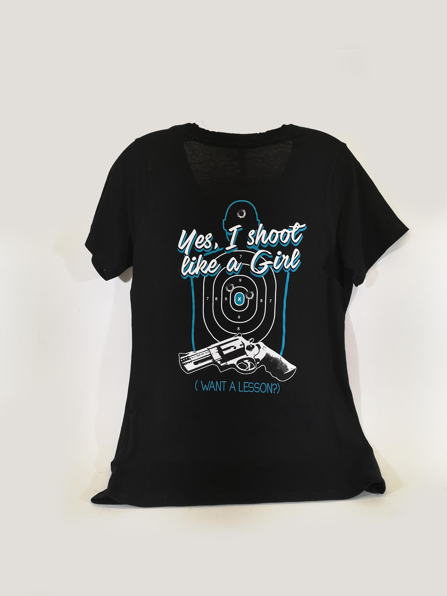 """Shoot Like A Girl"" T-Shirt"